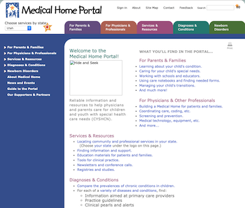 Medical Home Portal January 2010