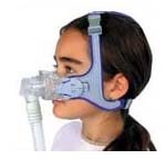CPAP Mask on Child